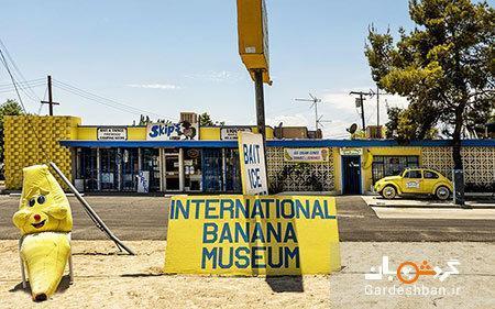 موزه موز ؛ جاذبه خنده دار کالیفرنیا