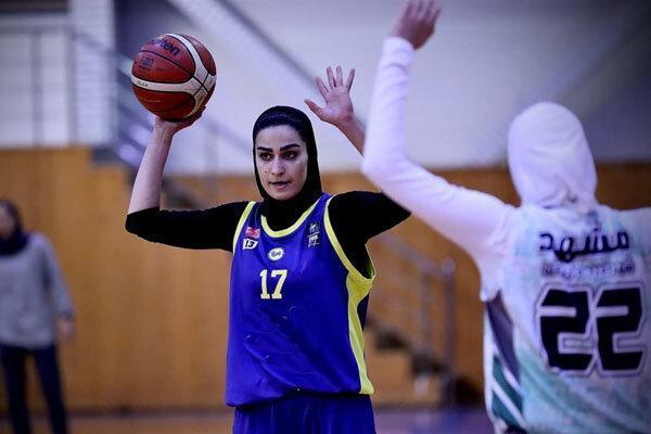 تیم های مهرام و گروه بهمن فینالیست لیگ بسکتبال بانوان شدند