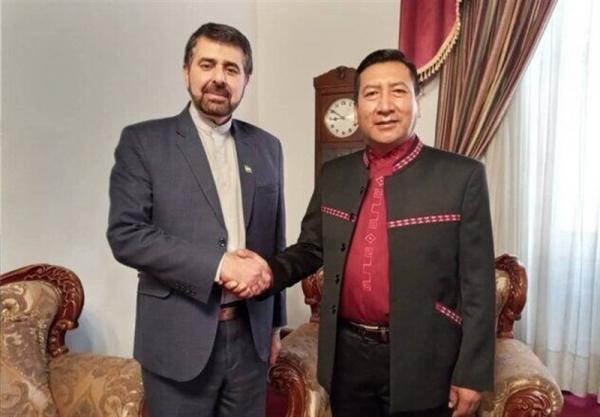 ملاقات سفیر ایران با رئیس مجلس نمایندگان بولیوی