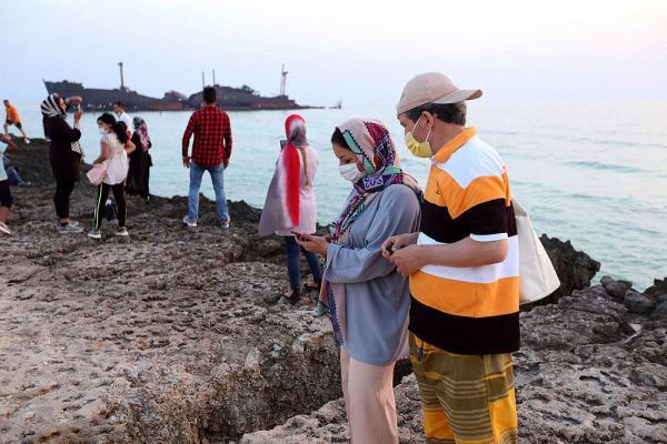 خبرنگاران بیش از 98 هزار توریست وارد کیش شدند