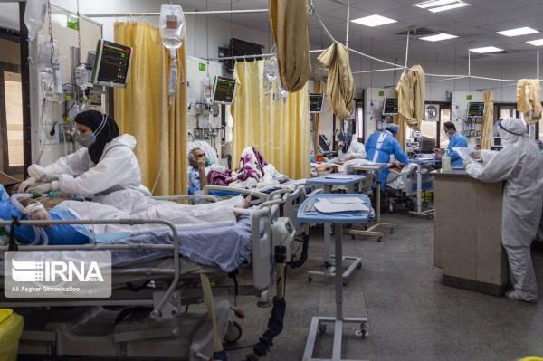 خبرنگاران ظرفیت پذیرش بیماران کرونا در بیمارستان کازرون تکمیل شد