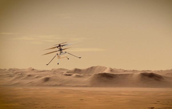 بالگرد نبوغ برای پروازهای بی بازگشت در مریخ آماده می شود
