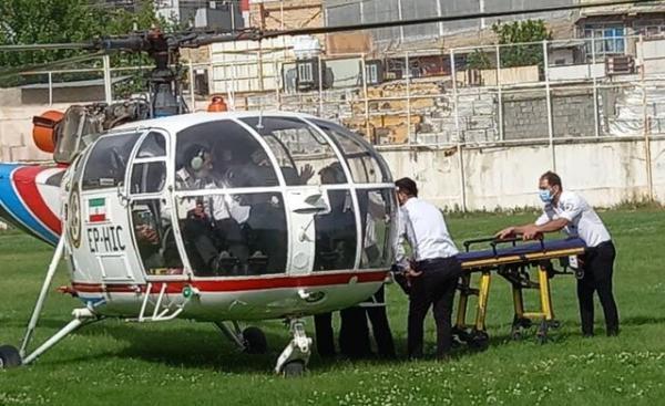 نجات جان کودک 6 ساله با بالگرد اورژانس 115