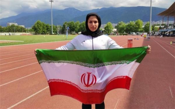 دختر ایرانی در دوومیدانی تاریخ ساز شد