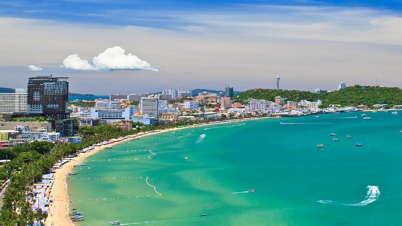 ساحل جامتین در پاتایا